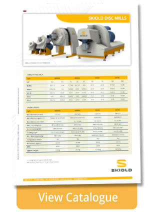disc mill skiold model differences
