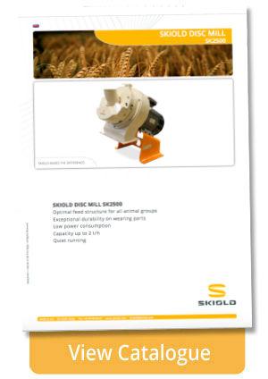 disc mill skiold sk2500 infosheet