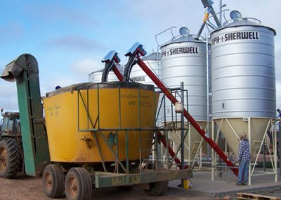 Skiold & VMS feedlot feed mill australia